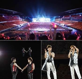 東方神起DVD『Live Tour  2013 ~TIME~ Final in NISSAN STADIUM』オリコンDVDチャートで1位に! コンサート.jpg