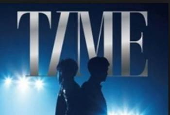 東方神起DVD『Live Tour  2013 ~TIME~ Final in NISSAN STADIUM』オリコンDVDチャートで1位に! タイトル.jpg